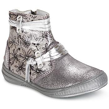Chaussures Fille Boots GBB REVA Argenté