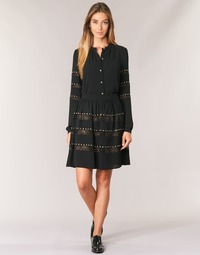 Vêtements Femme Jupes MICHAEL Michael Kors HT/ LACE MIX Noir