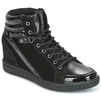 Chaussures Femme Baskets montantes Versace Jeans GERFI Noir