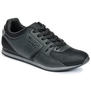Chaussures Homme Baskets basses Versace Jeans DEGI Noir
