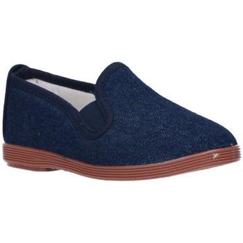 Chaussures Garçon Baskets mode Potomac 295  (N) - Tejano bleu