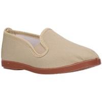 Chaussures Garçon Baskets mode Potomac LONAS NIÑOS - beige