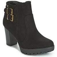 Chaussures Femme Bottines Refresh CALI Noir