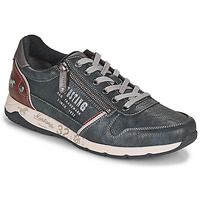 Chaussures Homme Baskets basses Mustang BRICA Marine