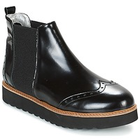 Chaussures Femme Boots Ippon Vintage HUNTER THICK Noir