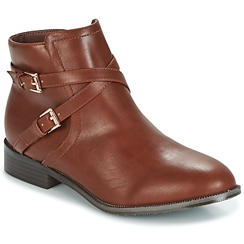 Chaussures Femme Boots Moony Mood HARCO Cognac