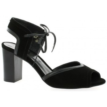 Chaussures Femme Escarpins We Do Escarpins cuir velours Noir