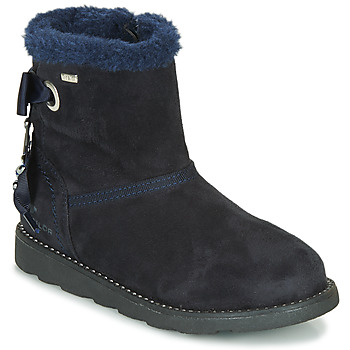 Chaussures Fille Boots Tom Tailor JAVILOME Bleu