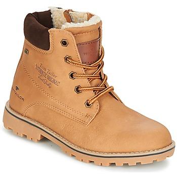 Chaussures Fille Boots Tom Tailor JOLUI Camel