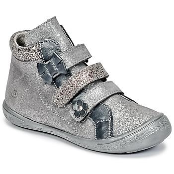 Chaussures Fille Boots Citrouille et Compagnie FALIE Gris