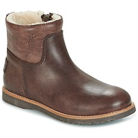 Chaussures Fille Boots Shabbies LOW STITCHDOWN LINED Marron