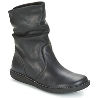 Chaussures Femme Boots Casual Attitude HAPANO Noir
