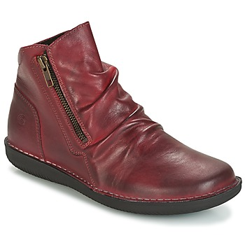 Chaussures Femme Boots Casual Attitude HERMINA Bordeaux
