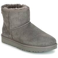 Chaussures Femme Boots UGG CLASSIC MINI II Gris
