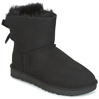 Chaussures Femme Boots UGG MINI BAILEY BOW II Noir