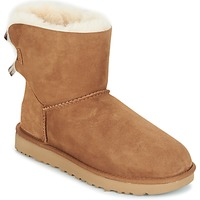Chaussures Femme Boots UGG MINI BAILEY BOW II Camel