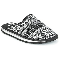 Chaussures Femme Chaussons Cool shoe HOME Noir / Blanc