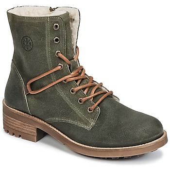 Chaussures Fille Boots Bullboxer CHEWIM Kaki