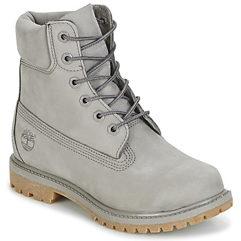 Chaussures Femme Boots Timberland 6IN PREMIUM BOOT - W Gris