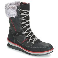Chaussures Femme Bottes de neige Rieker BISKA Noir