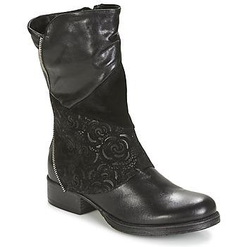 Chaussures Femme Boots Dream in Green HANPI Noir