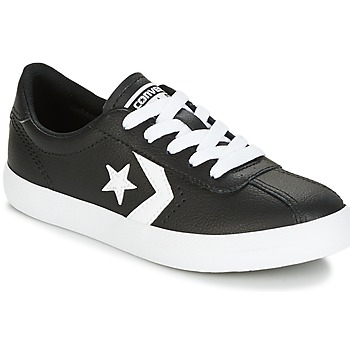 Chaussures Enfant Baskets basses Converse BREAKPOINT FOUNDATIONAL LEATHER BP OX Noir / Blanc