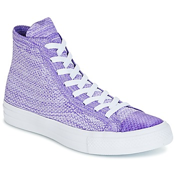 Chaussures Homme Baskets montantes Converse CHUCK TAYLOR ALL STAR NIKE FLYKNIT Violet / Blanc