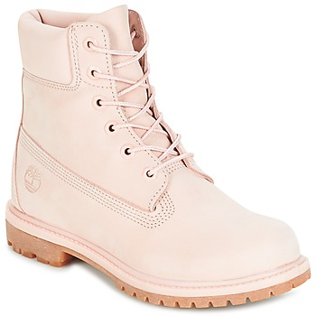 Chaussures Femme Boots Timberland 6IN PREMIUM BOOT - W Rose