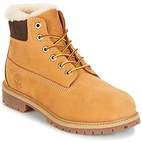 Chaussures Enfant Boots Timberland 6 IN PRMWPSHEARLING LINED Camel