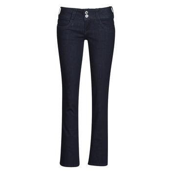 Vêtements Femme Jeans droit Pepe jeans GEN Bleu m15