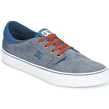Chaussures Homme Baskets basses DC Shoes TRASE TX SE Marine / Blanc
