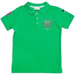 Vêtements Garçon Polos manches courtes Interdit De Me Gronder Party Vert