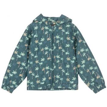 Vêtements Fille Blousons Petit Louie Blouson Coupe-vent Lexi Palm Vert 01928 Vert