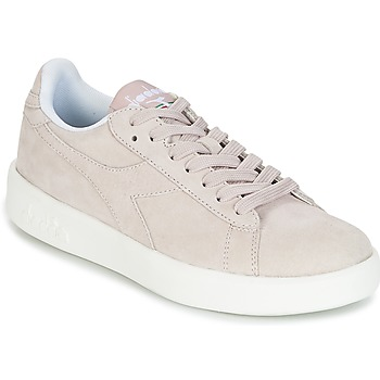 Chaussures Femme Baskets basses Diadora GAME WIDE NUBE Taupe