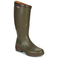 Chaussures Homme Bottes de pluie Aigle PARCOURS 2 Kaki