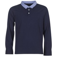 Vêtements Homme Polos manches longues Casual Attitude IHEYA Marine