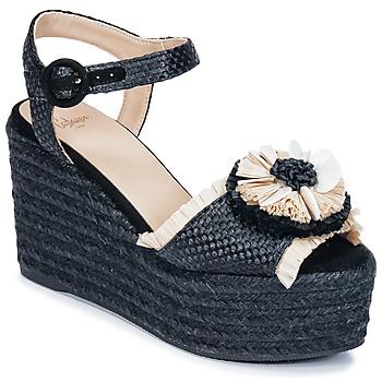 Chaussures Femme Sandales et Nu-pieds Castaner EFEDRA Noir