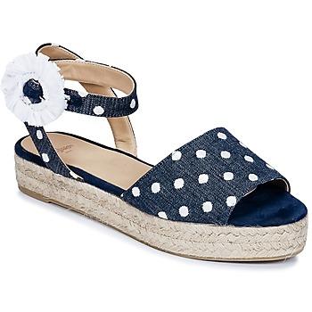 Chaussures Femme Sandales et Nu-pieds Castaner WOXOC Marine
