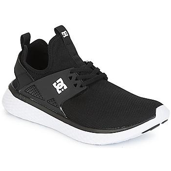 Chaussures Homme Baskets basses DC Shoes MERIDIAN M SHOE BKW Noir