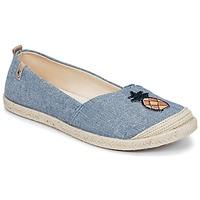 Chaussures Femme Espadrilles Roxy FLORA II J SHOE CHY Bleu