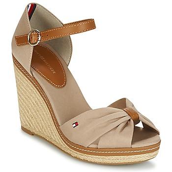 Chaussures Femme Sandales et Nu-pieds Tommy Hilfiger ICONIC ELENA SANDAL Beige