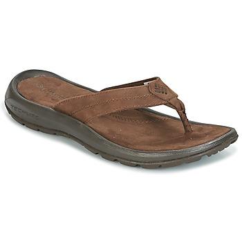 Chaussures Homme Tongs Columbia MANAROLA II Marron