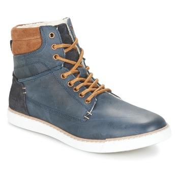 Chaussures Garçon Baskets montantes Bullboxer  Bleu / Camel