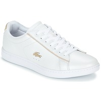 Chaussures Femme Baskets basses Lacoste CARNABY EVO 118 6 Blanc