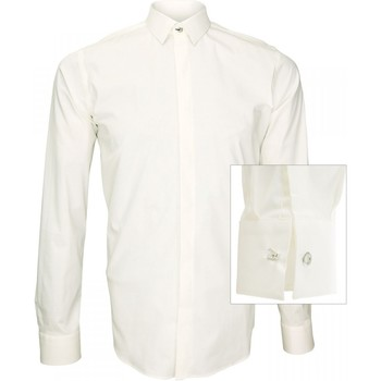 Vêtements Homme Chemises manches longues Andrew Mac Allister chemise tendance new weave beige Beige