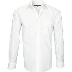 Vêtements Homme Chemises manches longues Andrew Mac Allister chemise tissu armure saint james beige Beige