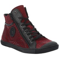 Chaussures Femme Baskets montantes Pataugas 623198 rouge