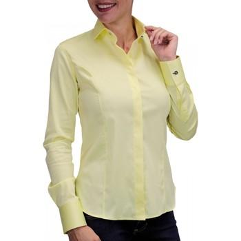 Vêtements Femme Chemises manches longues Andrew Mac Allister chemise bouton metal new weave jaune Jaune