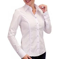 Vêtements Femme Chemises manches longues Andrew Mac Allister chemise pastel waterlily jaune Jaune