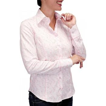Vêtements Femme Chemises manches longues Andrew Mac Allister chemise pastel waterlily rose Rose